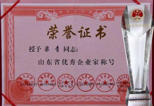 山东省优秀企业家