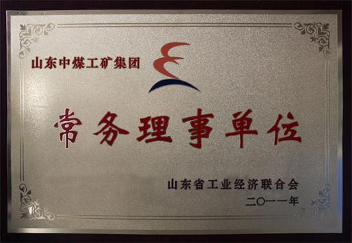 山东省工业经济联合会常务理事单位