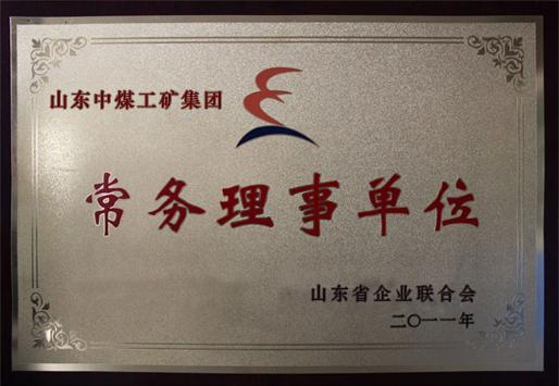 山东省企业联合会常务理事单位