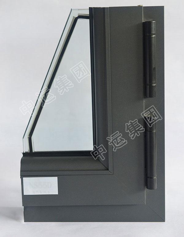 50铝合金平开窗型材