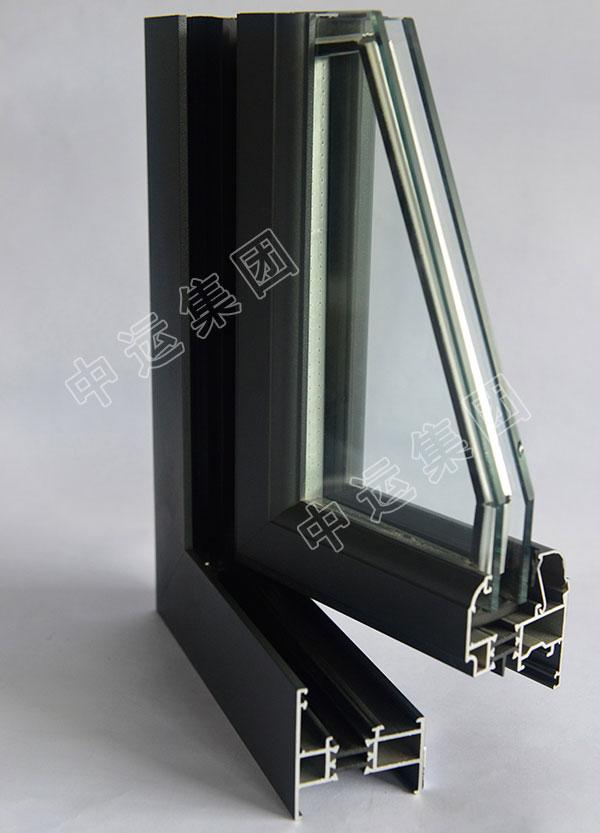 55平开窗型材