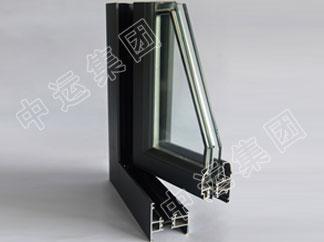 55铝合金平开窗型材