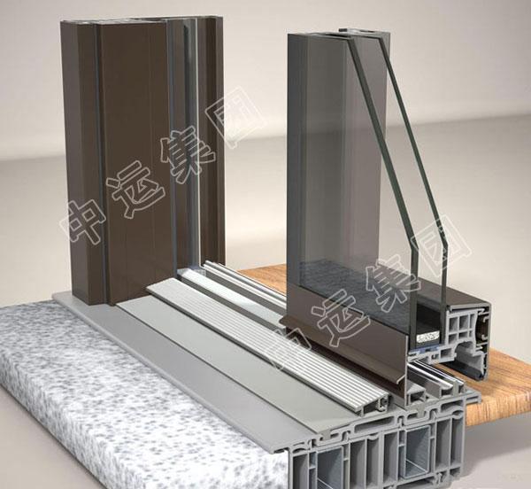 铝合金平开窗型材