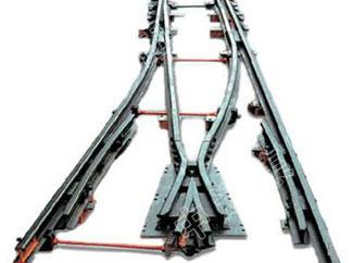 矿用窄轨铁路道岔系列