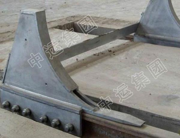 WCD型弯式月牙挡车器
