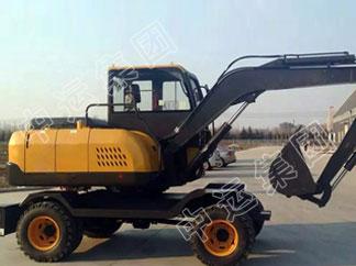85轮式挖掘机
