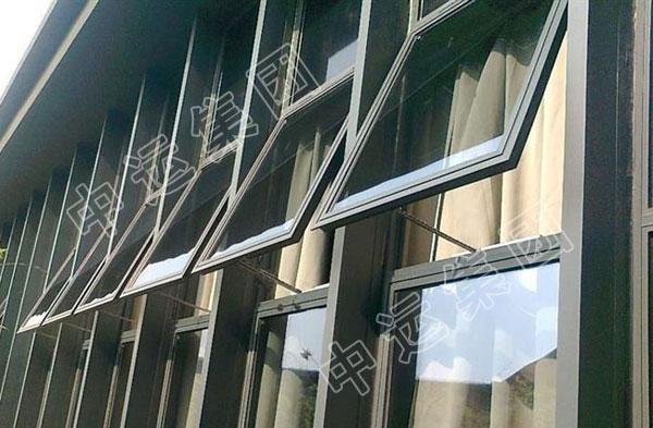 60系列铝合金平开窗型材