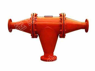 瓦斯管路快速排渣器