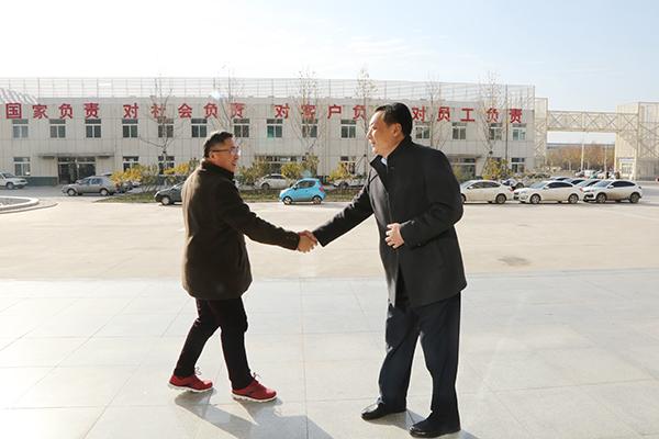 热烈欢迎北京智慧能源微网公司领导莅临集团考察合作