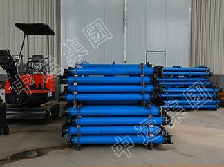 雙伸縮懸浮單體液壓支柱