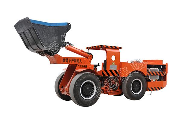 WJD-1C型侧翻式地下电动铲运机