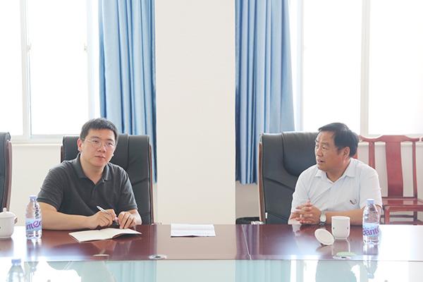 热烈欢迎济宁市工商联领导莅临集团参观座谈