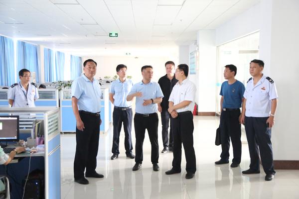 热烈欢迎济宁市税务局领导莅临集团参观调研