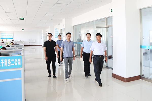热烈欢迎拓攻机器人有限公司领导莅临集团考察合作