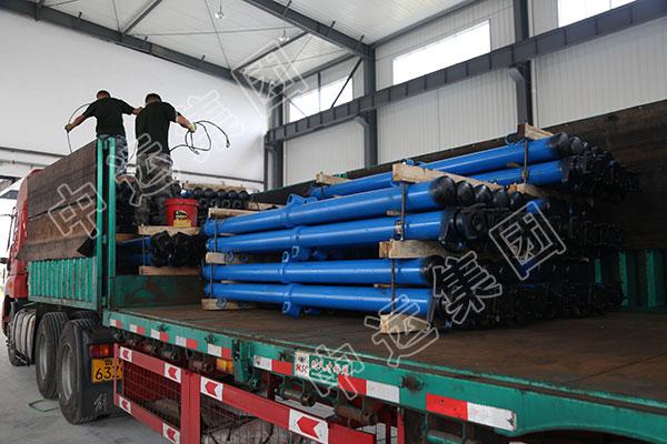 发货!又一批悬浮式单体液压支柱发往山西朔州