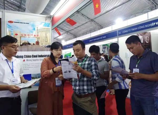 热烈祝贺集团2019越南VIIF展订单金额突破300万美元