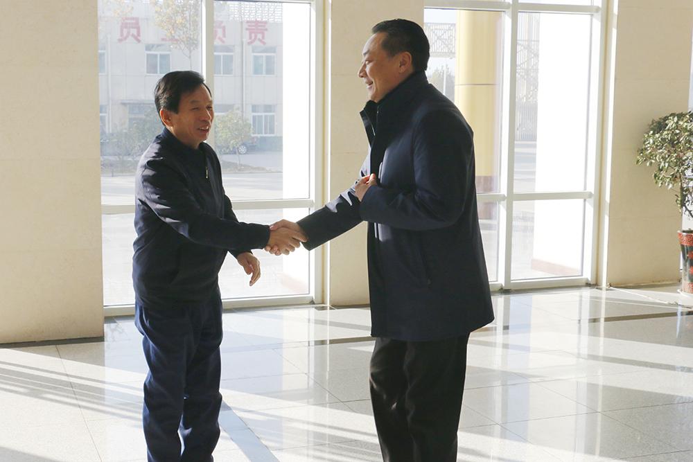 热烈欢迎济宁市市场监管局领导莅临集团参观指导