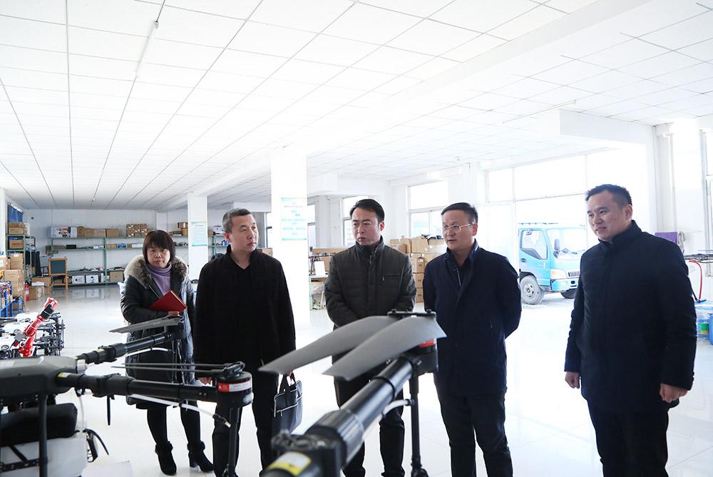 热烈欢迎济宁市软件和信息服务业协会领导莅临集团参观考察
