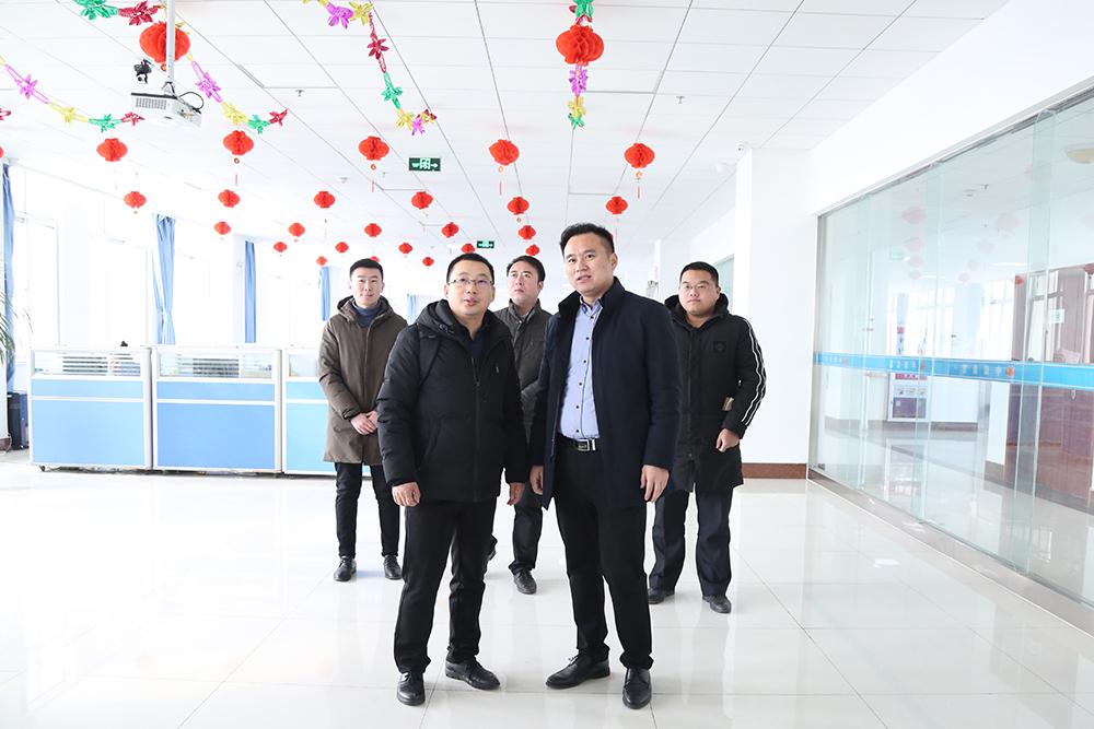 热烈欢迎北京大数据专家莅临集团考察合作