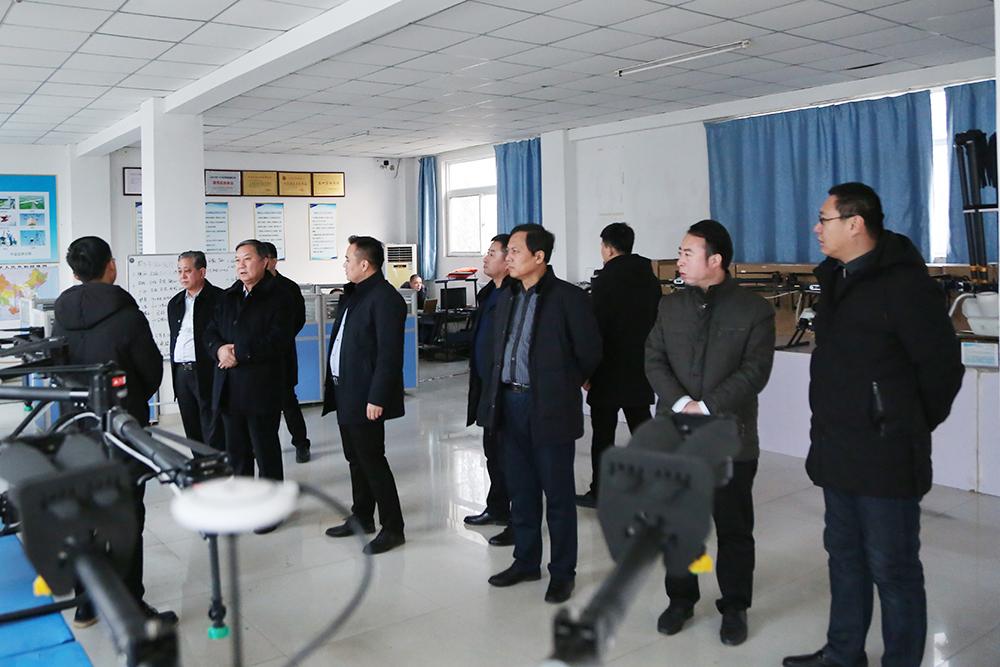 热烈欢迎先河机电公司领导莅临集团考察合作