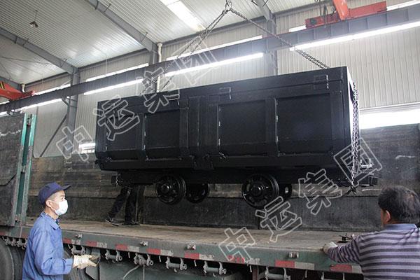 中运集团一批矿用单体液压支柱分别发往陕西和山西