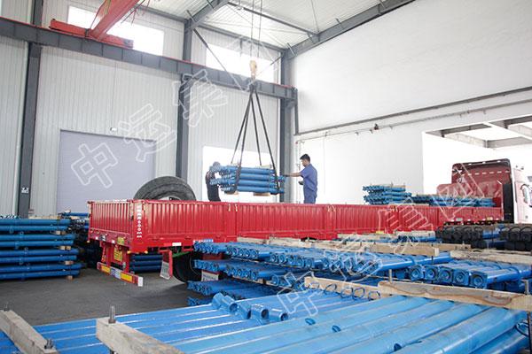 集团一批矿用单体液压支柱发往湖南
