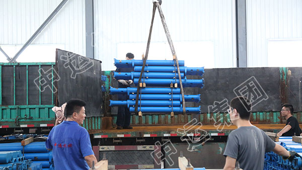 集团一批矿用单体液压支柱发往贵州