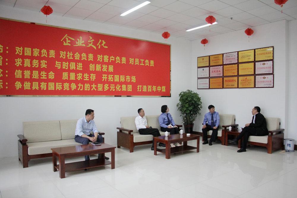 熱烈歡迎濟寧高新區檢察院領導蒞臨集團指導工作